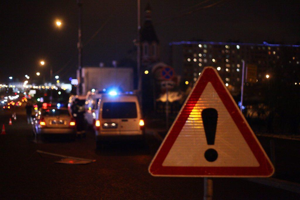 В ДТП на МКАД на юге Москвы погиб один человек