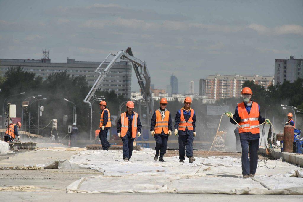 Эстакаду через МЦК на территории ЗИЛ откроют в конце августа