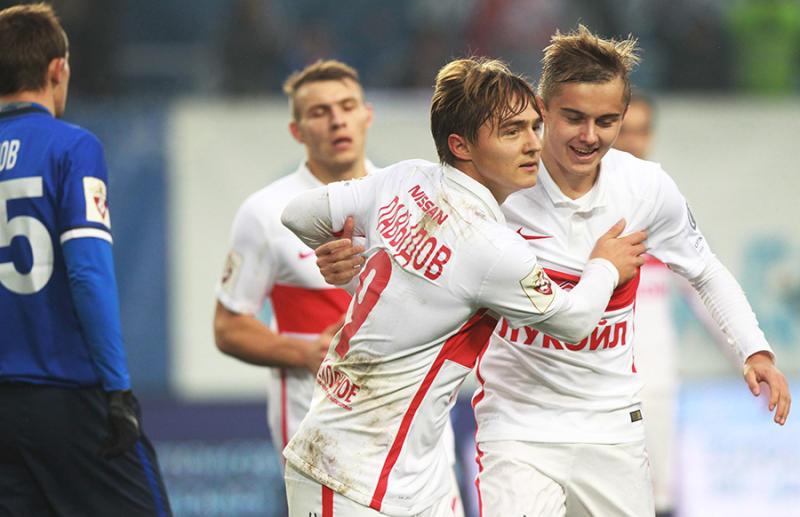 Болельщики московского «Спартака» отпраздновали победу команды