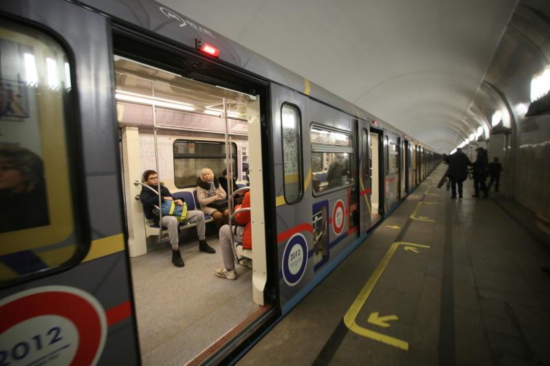 НаКаховской линии метро столицы остановили движение