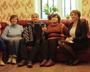 9 июня 2017 года. Слева направо: Тамара Ермакова, Николай Ненарокомов, Лариса Капралова и Лариса Нерсесян. Фото: Пелагия Замятина