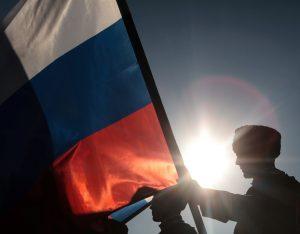 В честь Дня России на Поклонной горе установили самый большой в мире триколор