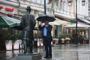 """Прогноз на воскресенье: дожди и грозы. Фото: """"Вечерняя Москва"""""""