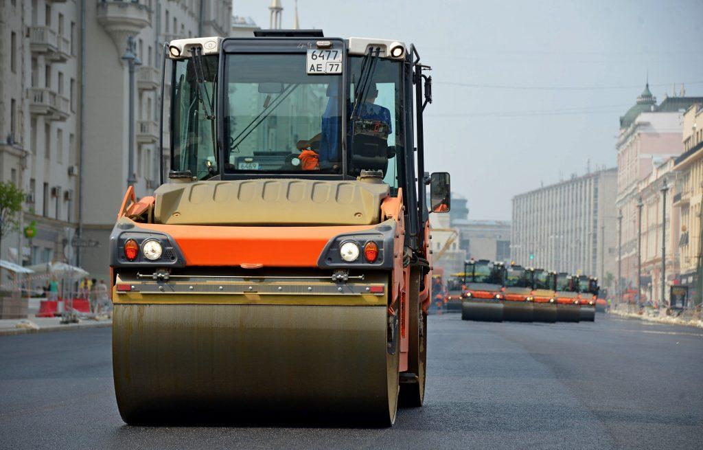 Бульварное кольцо Москвы частично перекроют для укладки асфальта