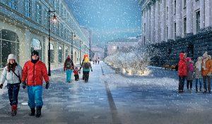 Территорию маршрута планируется обновить и благоустроить. Фото: mos.ru