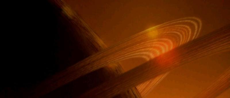 Ученые увидели две вращающиеся черные дыры