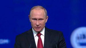 Президент России Владимир Путин заявил о поддержке программы реновации в столице. Фото: скриншот с видео