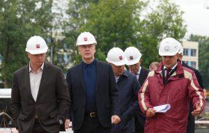 Мэр Москвы Сергей Собянин осмотрел ход строительства станции метро Лефортово