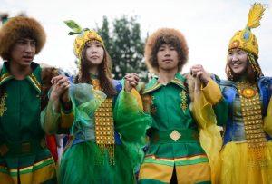 В этом году «Ысыах» отмечают в «Коломенском» десятый год подряд. Фото: Наталья Феоктистова, «Вечерняя Москва»