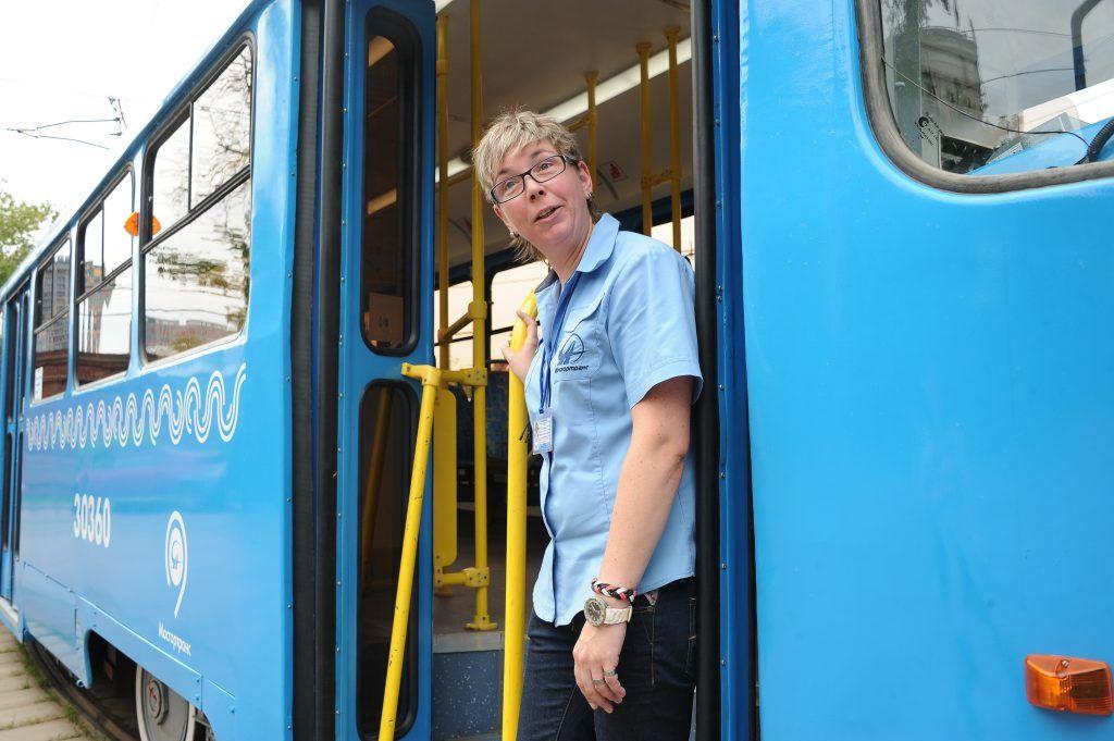 Трамвай идет на юг
