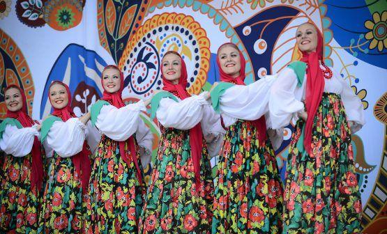 Межрегиональный фестиваль славянского искусства «Русское поле». Фото: архив, «Вечерняя Москва»