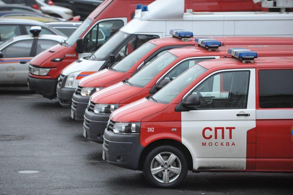 Горожанин выжилпосле прыжка из горящей квартиры на юге Москвы