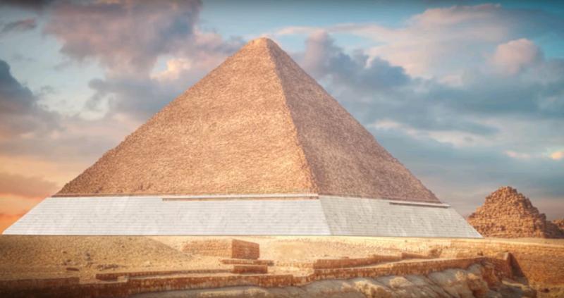 Ученые раскрыли технологию возведения пирамиды Хеопса