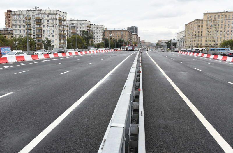 Очередной этап строительства эстакады на Варшавском шоссе завершен