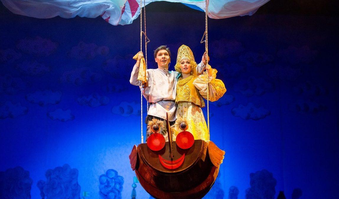 Театриум на Серпуховке представит мюзикл «Летучий корабль» в саду «Эрмитаж»