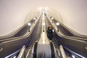 Три прежних эскалатора заменят на четыре новых. Фото: Антон Гердо