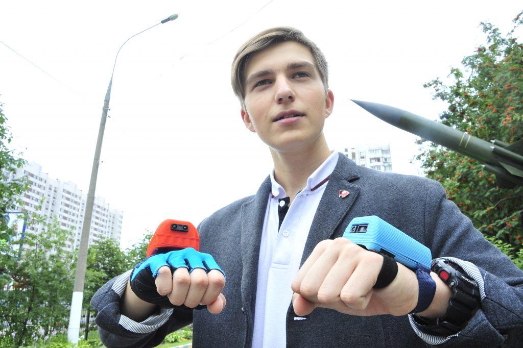 Лицеист из Нагорного района занял третье место на конкурсе «Юные инноваторы Москвы»