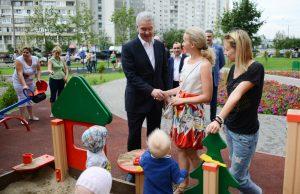 Сергей Собянин: Каждый год будем кардинально обновлять по три тысячи детских площадок и дворов