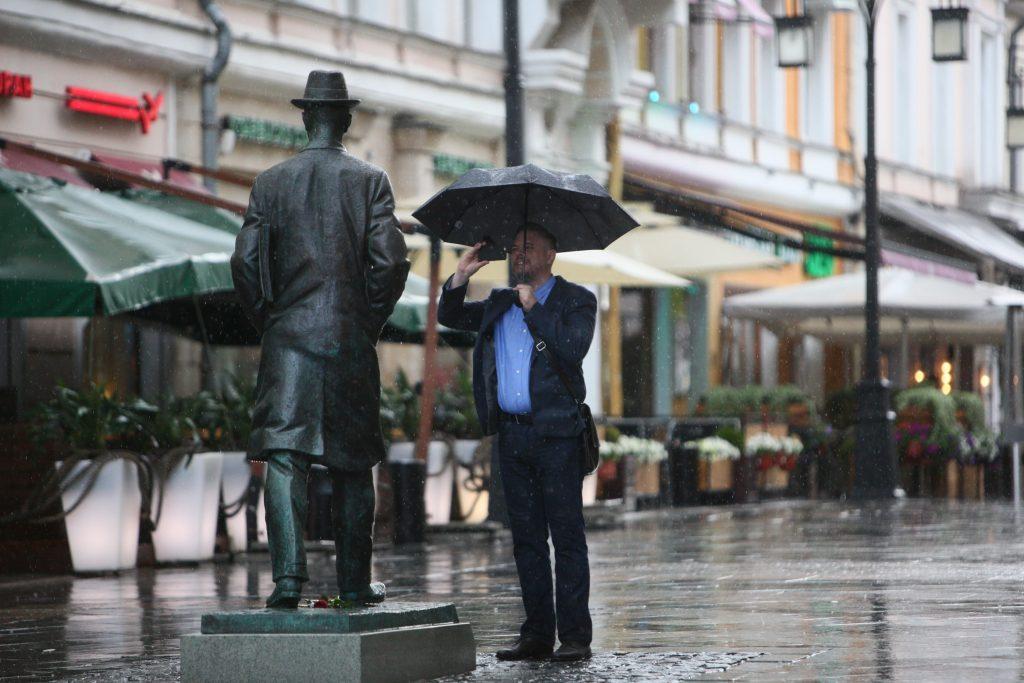 Дождливая погода установится в Москве
