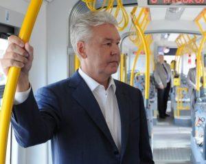 Москва получила в этом году 75 трамваев «Витязь М» и почти 500 низкопольных автобусов