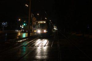 """Максим Ликсутов отметил, что девять автобусных и один трамвайный маршрут обеспечивают передвижение москвичей в ночное время суток. Фото: """"Вечерняя Москва"""""""