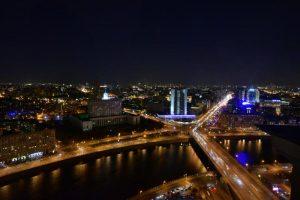 Видеопоздравления с Днем города начали транслировать на медиафасадах в Москве