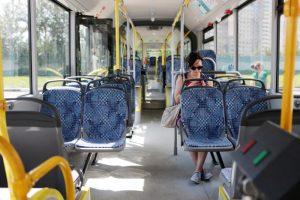 По хордовому маршруту автобуса №908 проехали около миллиона пассажиров. Фото: архив, «Вечерняя Москва»