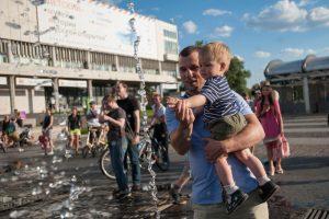"""Температура в Москве растет вверх. Фото: """"Вечерняя Москва"""""""