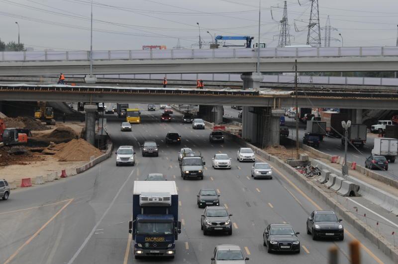 Участок Южной рокады на Варшавском шоссе планируют открыть в сентябре