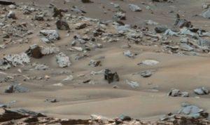 Первый раз следы снега на Марсе нашли 9 лет назад. Фото: Скриншот YouTube