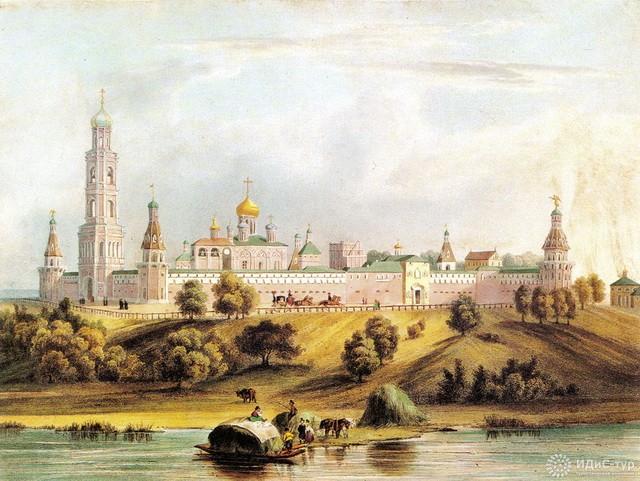 Подземный ход вел к Москве-реке
