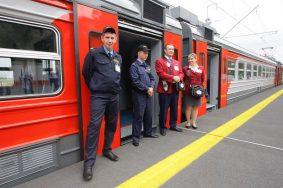 Контролеры в электричках Москвы получили видеорегистраторы