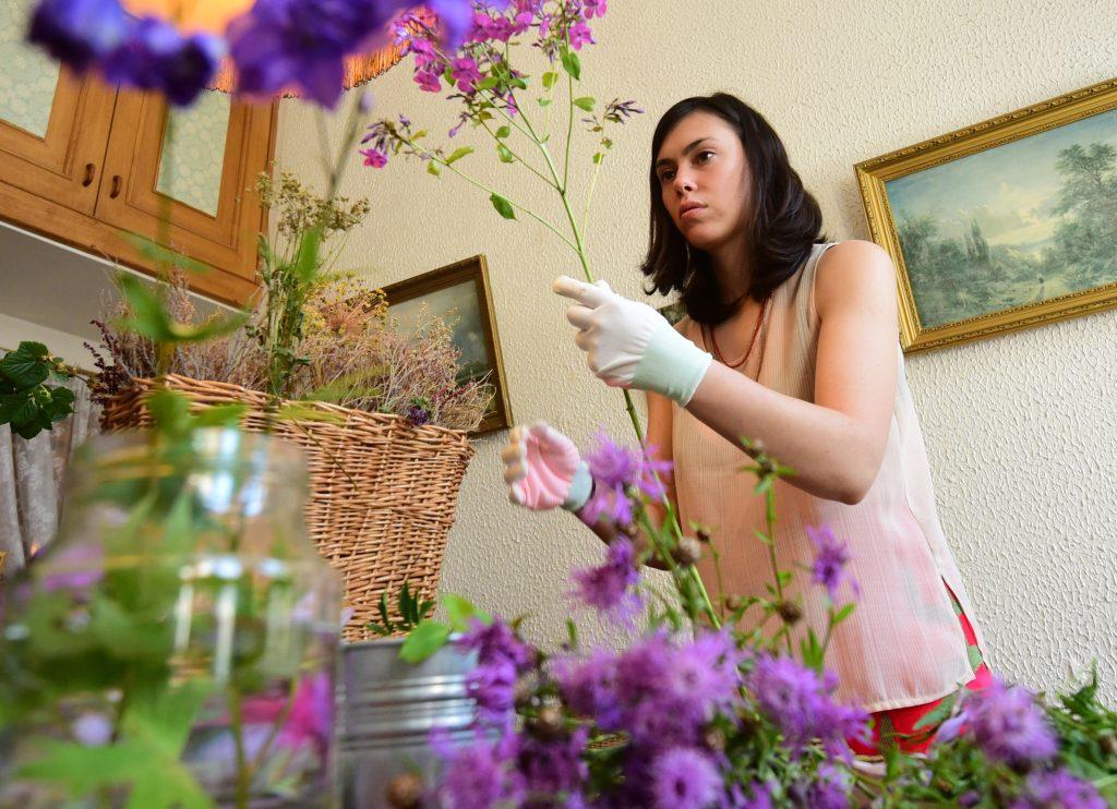 День учителя или праздник для флориста?