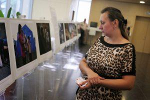 Фотовыставка, посвященная творчеству Валентина Распутина, открылась в библиотеке № 155. Фото: Елена Горбачева