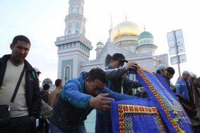 Курбан-байрам начали праздновать в Москве
