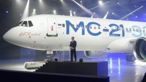 Испытание самолета МС-21 стартовало в России