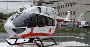 Вертолет вылетел на место аварии на улице Кировоградская. Фото: сайт МАЦ