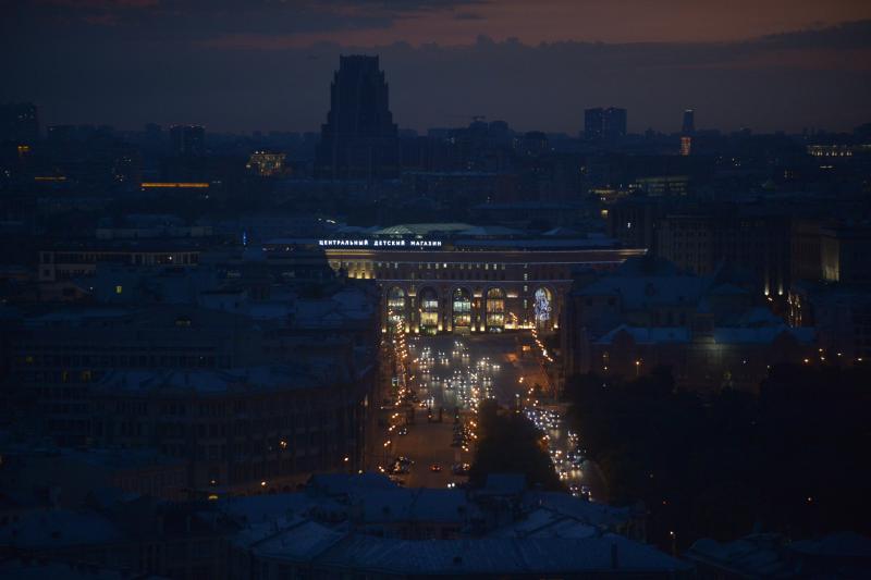 Ночью в столице России был превышен уровень сероводорода