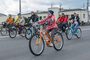 17 сентября в Москве стартует ежегодный осенний велопарад. Фото: архив, «Вечерняя Москва»