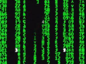Код к заставке фильма «Матрица» оказался рецептом суши