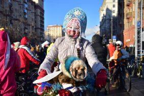 Зимний велопарад проведут в Москве 11 февраля
