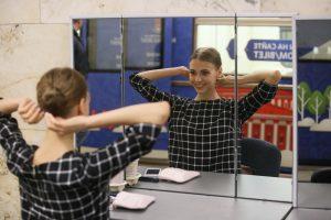 На станциях «Ленинский проспект», «Орехово», «Кантемировская», «Нагатинская» появятся зеркала для пассажиров. Фото: архив, «Вечерняя Москва»