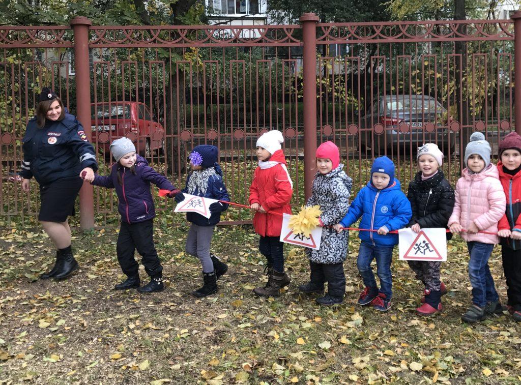 Госавтоинспекция Юга Москвы продолжают проводить мероприятия, направленные на снижение детского дорожно-транспортного травматизма