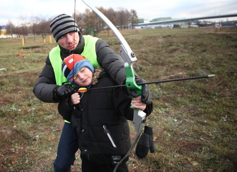 Жители Даниловского района приняли участие в игре «Зарница»