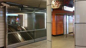 Три новых зеркала появилось на двух станциях метро зеленой ветки. Фото: Официальный портал мэра и правительства Москвы