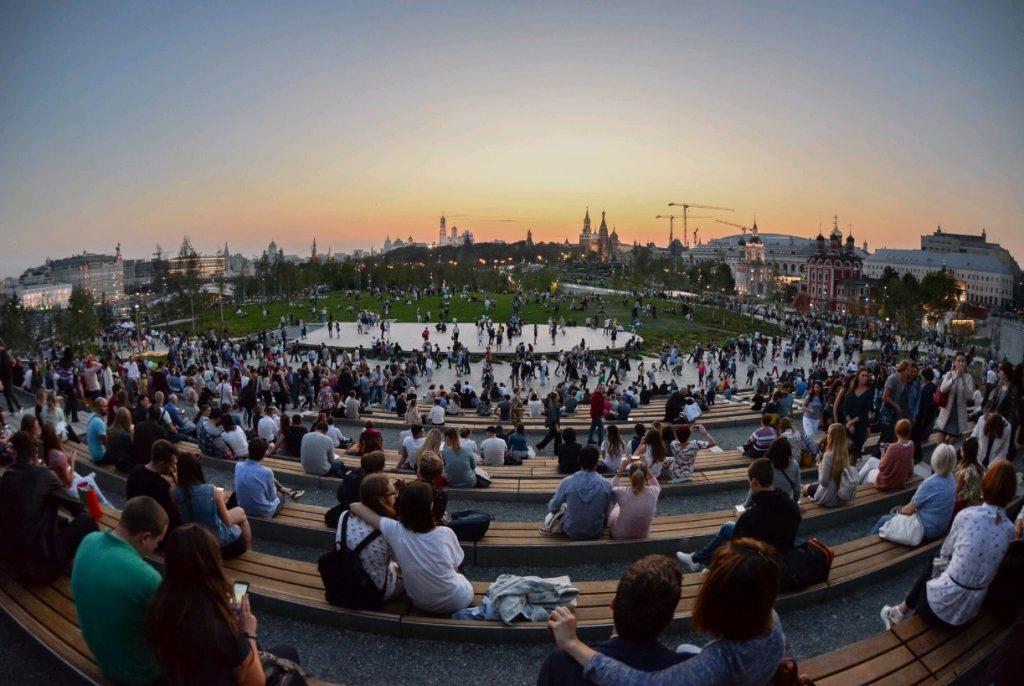 За месяц гостями парка «Зарядье» стали более миллиона человек
