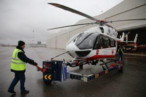 14 ноября 2017 года. Медицинский вертолет Московского авиационного центра. Фото: Владимир Смоляков