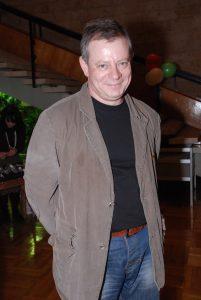 5 декабря 2007 года. Вадим Андреев на 19-летии гильдии киноактеров. Фото: photoxpress