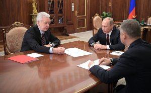 Мэр Москвы представил Владимиру путину проект создания новой ветки наземного метро