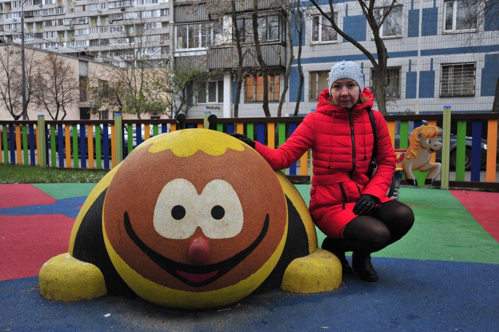 Спорт начинается с детской площадки